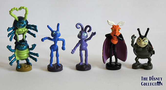 Bugs Life Characters A bug's life mattel pvc's
