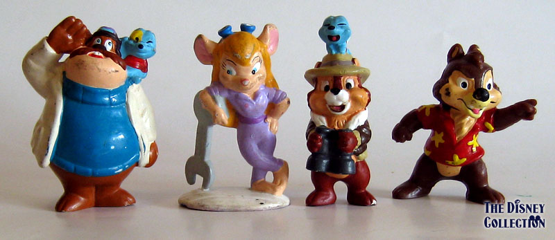 chip n dale rescue rangers applause pvc s the disney collection