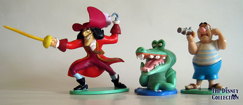Peter Pan Toys : Peter pan disneystore pvc s the disney collection