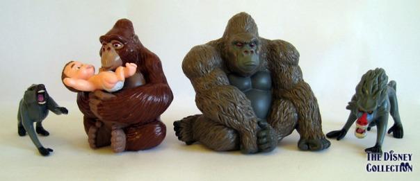 Tarzan Mattel Pvc S The Disney Collection