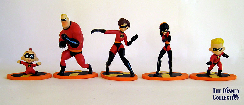 The Incredibles Toys : The incredibles disney collection