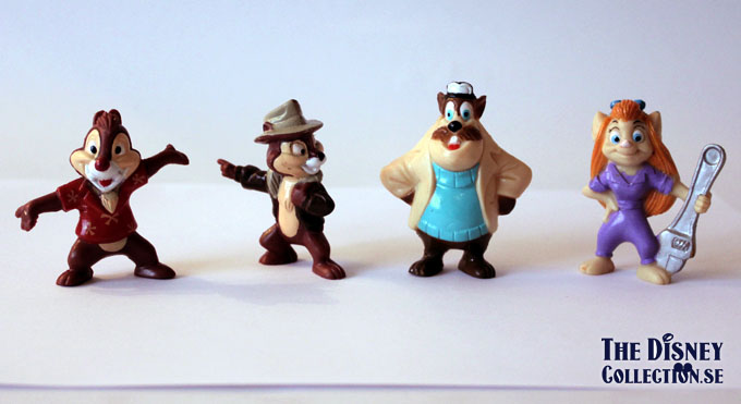 chip n dale rescue rangers kelloggs pvc s the disney collection