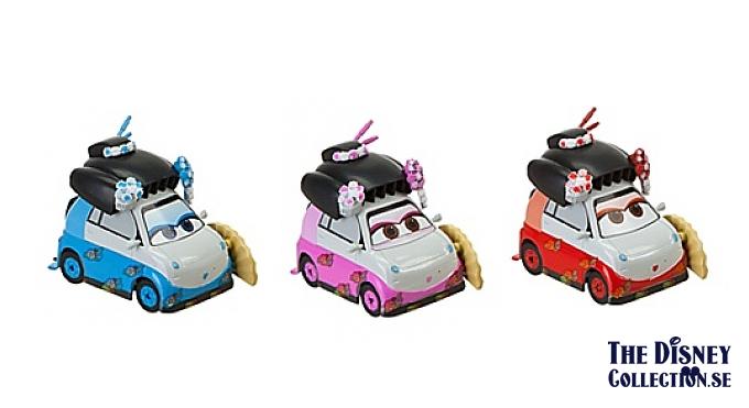 Cars 2 Disneystore Travelin Through Tokyo Die Cast Set The