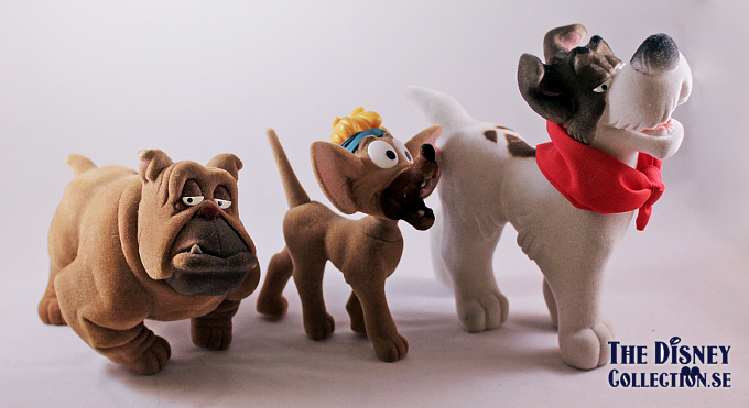 Toys And Co : Oliver company sears flocked figures the disney