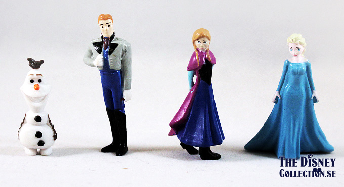 Disney Frozen My Busy Book. Storybook, 12 Figurines, Playmat.