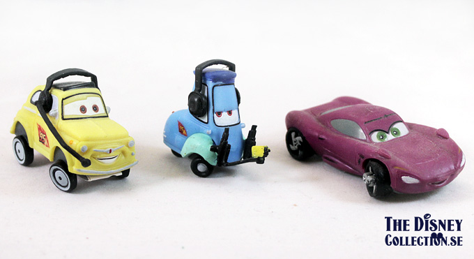 Cars 2 Bullyland Pvc S The Disney Collection