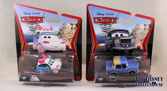 Cars 2 Mattel Diecast Collection The Disney Collection