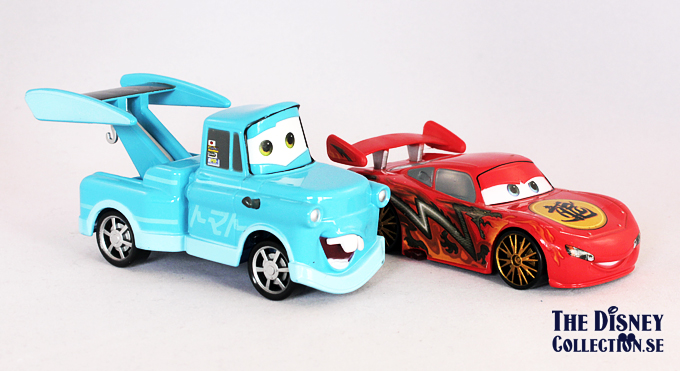 Cars Toons – Light-up Tokyo Die Cast Deluxe Set