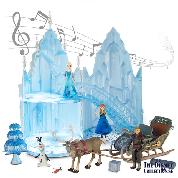 Frozen Elsas Musical Ice Castle Playset