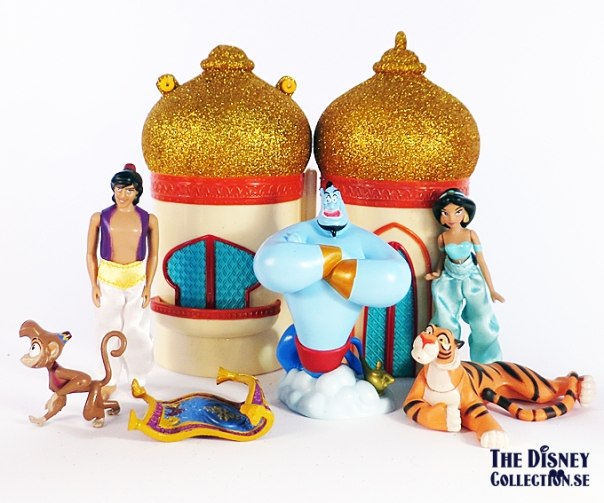 Aladdin Disneystore Jasmine Mini Castle Play Set The Disney