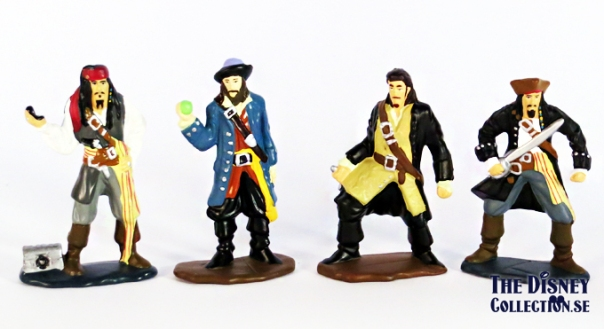 POTC - Dead Mans Chest Mini Figure Set Zizzle