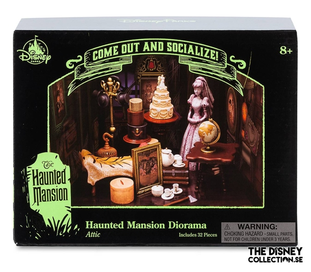 The Haunted Mansion Attic Diorama Kit2